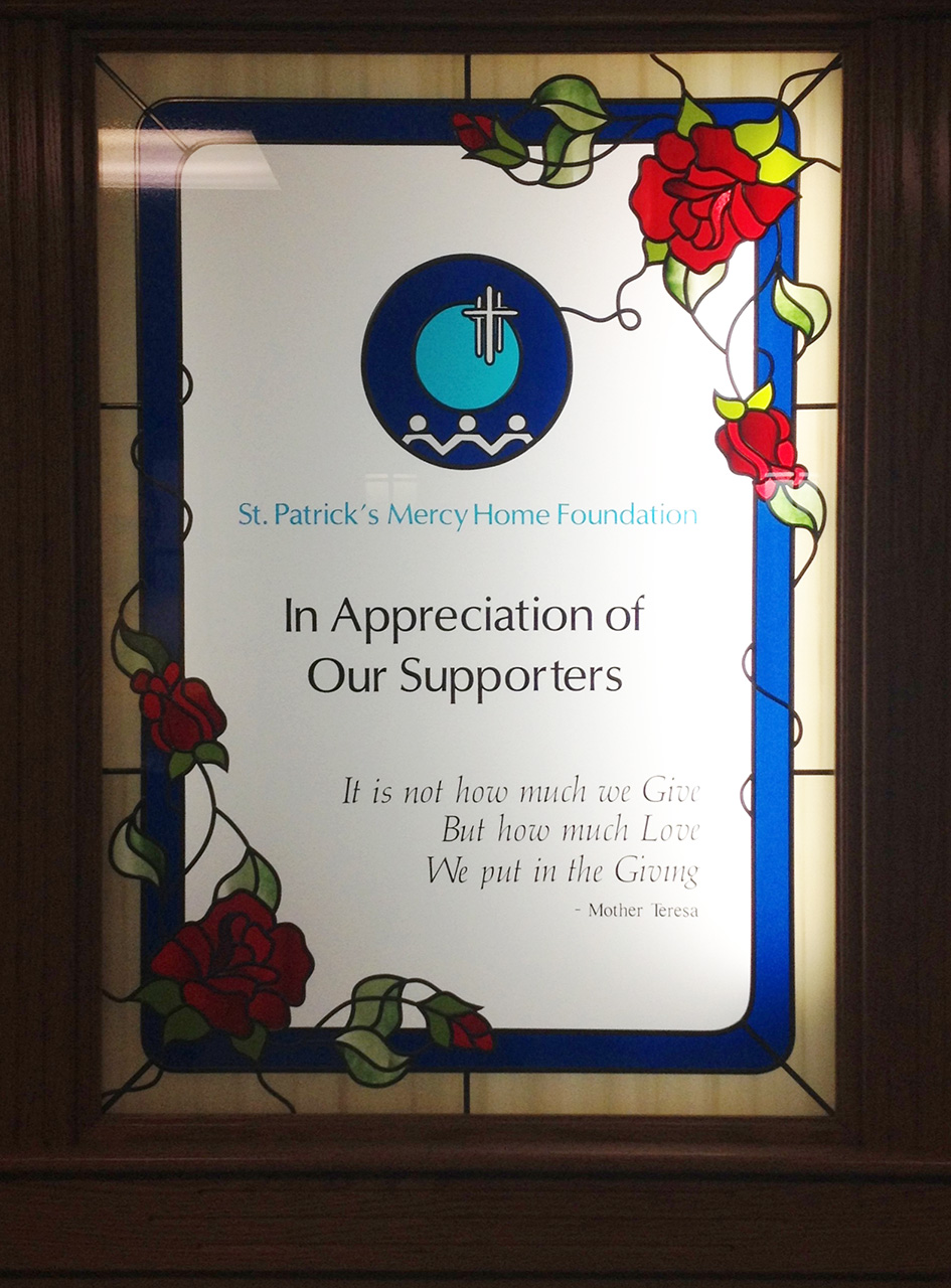 Stained Glass Window Of Appreciation